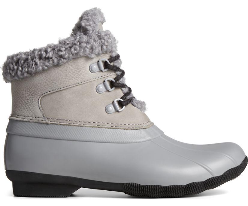 Saltwater Sherpa Alpine Duck Boot, Grey/Black, dynamic