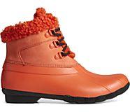 Saltwater Sherpa Alpine Duck Boot, Spicy Orange/Black, dynamic