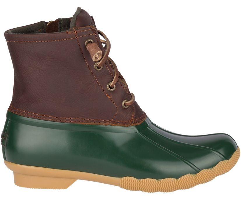 Saltwater Duck Boot, Green, dynamic