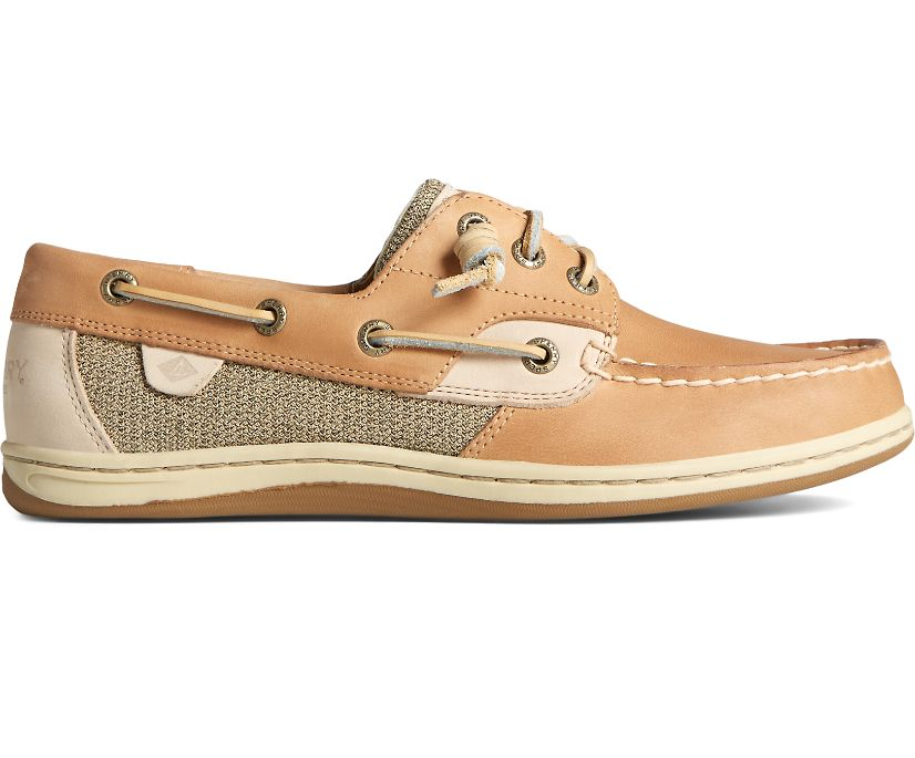 Songfish Boat Shoe, Linen Oat, dynamic