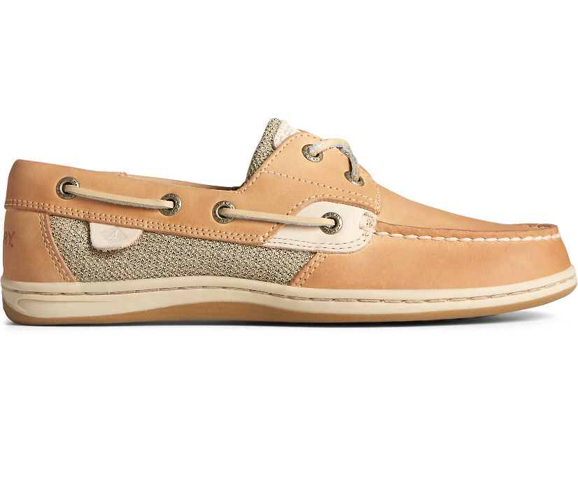 Koifish Boat Shoe, Linen Oat, dynamic