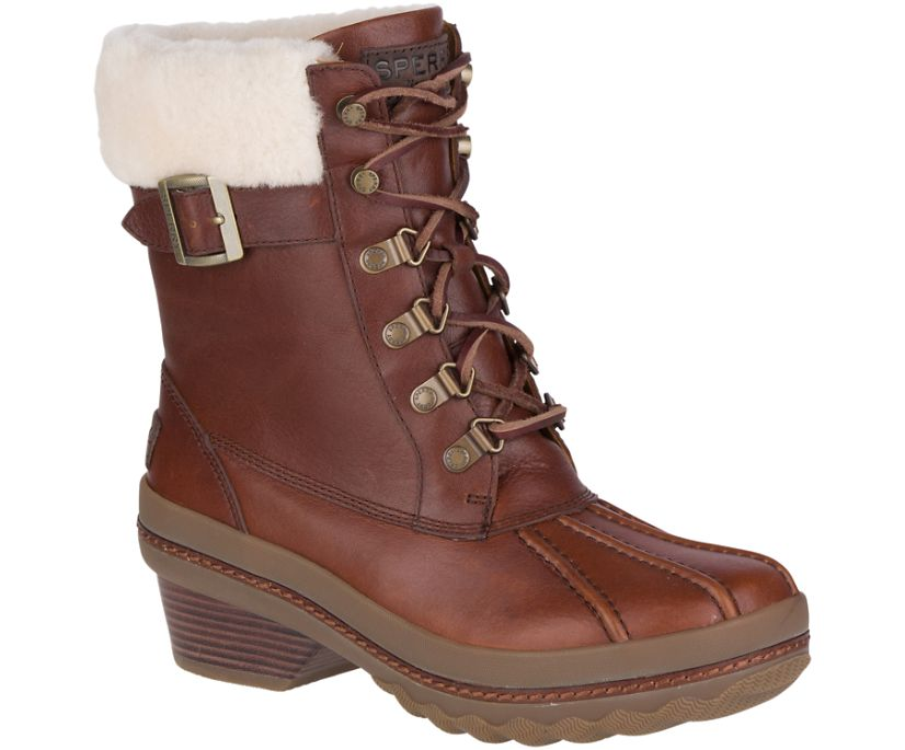 Gold Cup Ava Duck Boot w/ Thinsulate™, Brown, dynamic