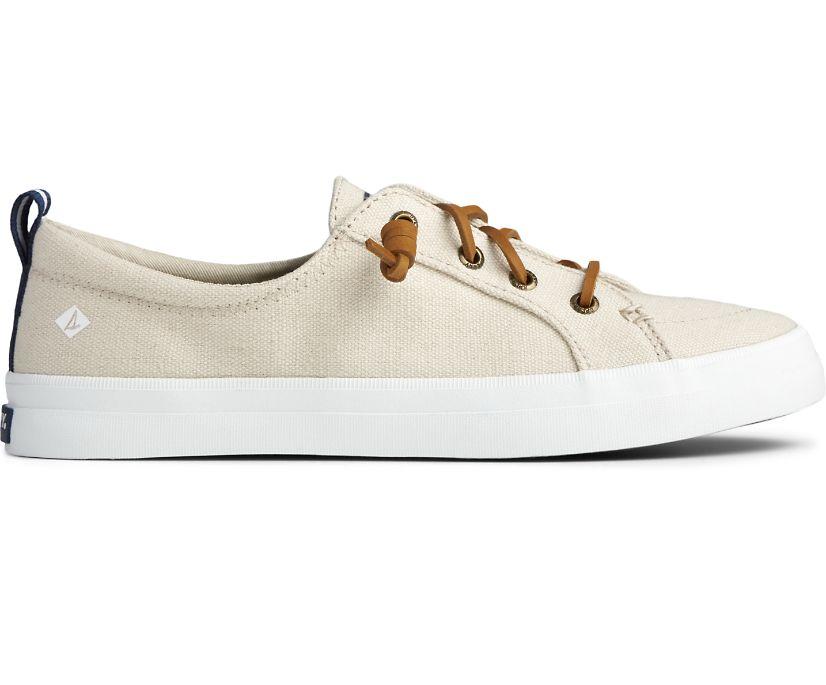 Crest Vibe Sneaker, Oat, dynamic