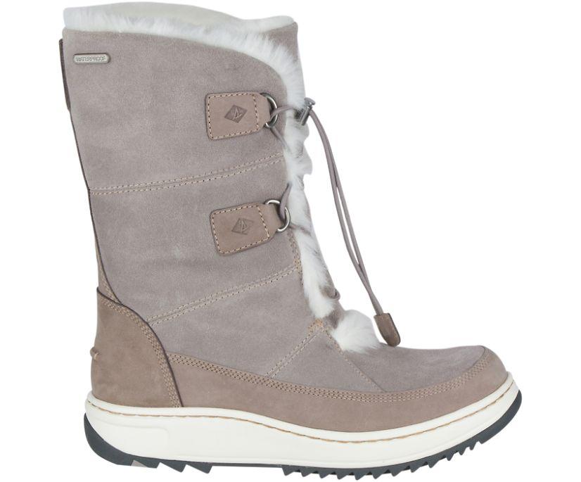 Powder Valley Vibram Arctic Grip Boot w/ Thinsulate™, Grey, dynamic