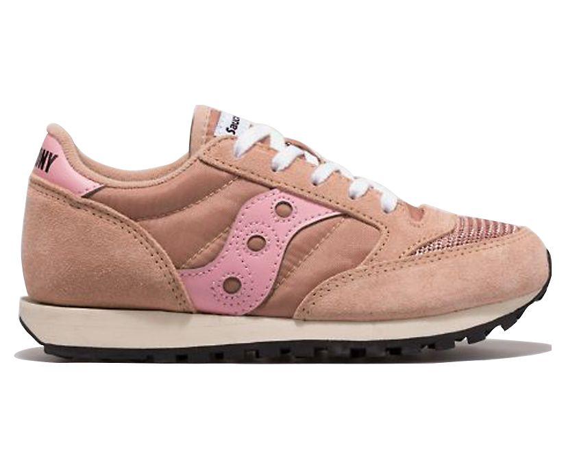 Jazz Original Vintage Sneaker, Pink, dynamic