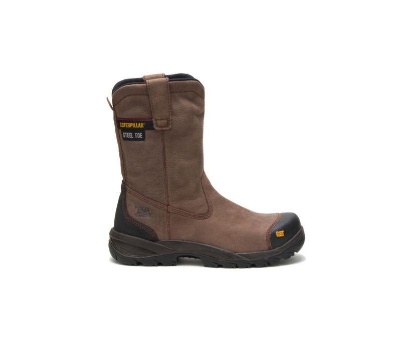 Spur Steel Toe Work Boot, Brown, dynamic