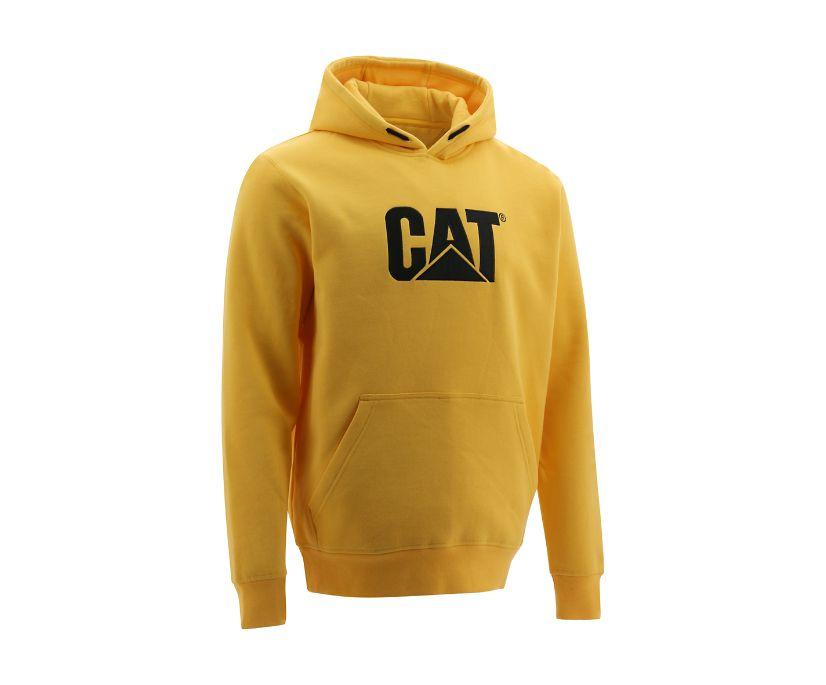 Trademark Hooded Sweatshirt, Yellow, dynamic