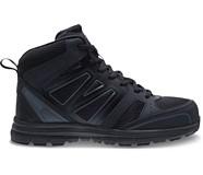 Nimble Mid CSA Steel Toe Work Boot, Black/Grey, dynamic