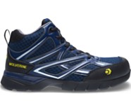 Jetstream CSA CarbonMAX® Safety Toe Mid Height Shoe, Navy, dynamic