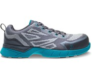 Jetstream 2 CSA CarbonMax Safety Toe Work Shoe, Grey/Teal, dynamic