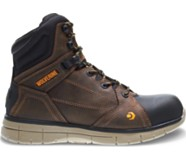 Rigger Mid CSA EPX Waterproof Boot, Brown, dynamic