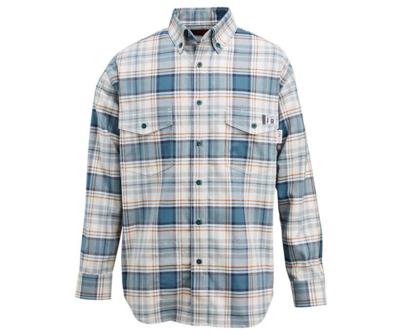 FR Plaid Long Sleeve Twill Shirt, Bering, dynamic