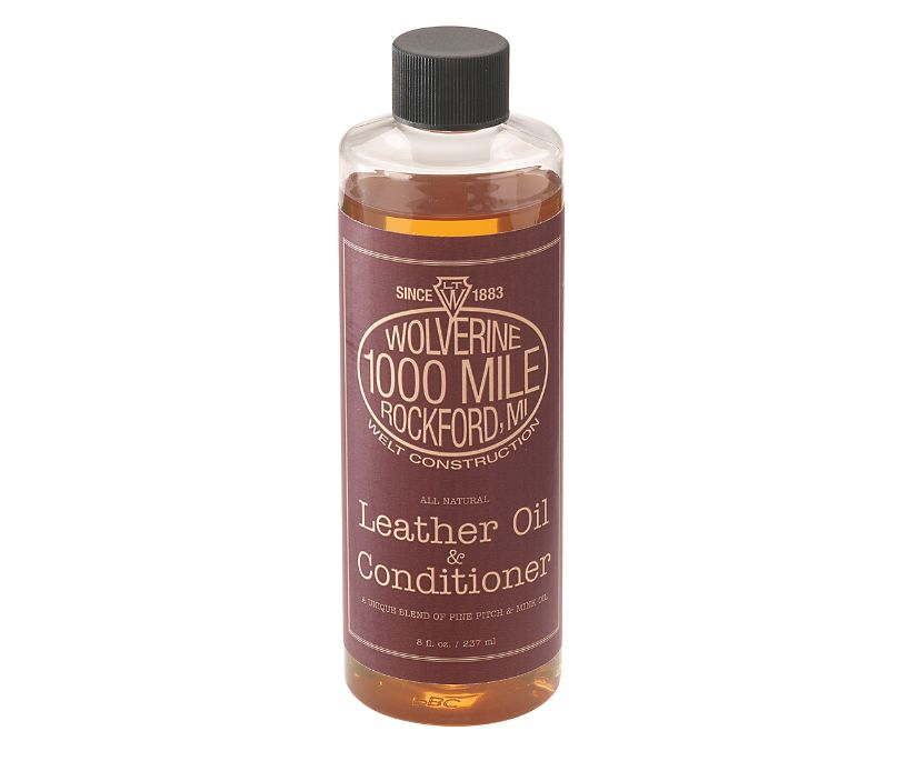 1000 Mile Leather Oil Shoe Care, Brown, dynamic
