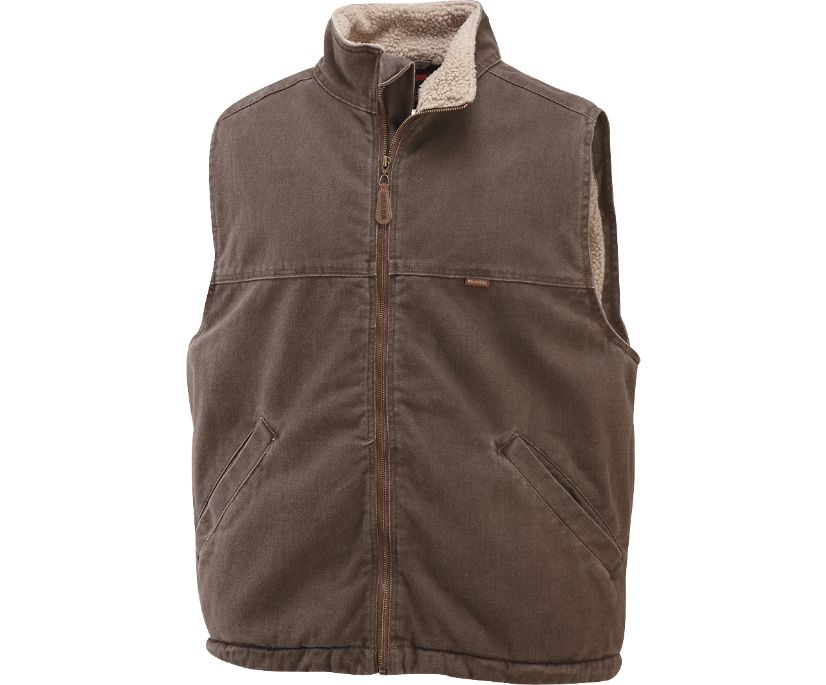 Upland Vest (Big & Tall), Bison, dynamic