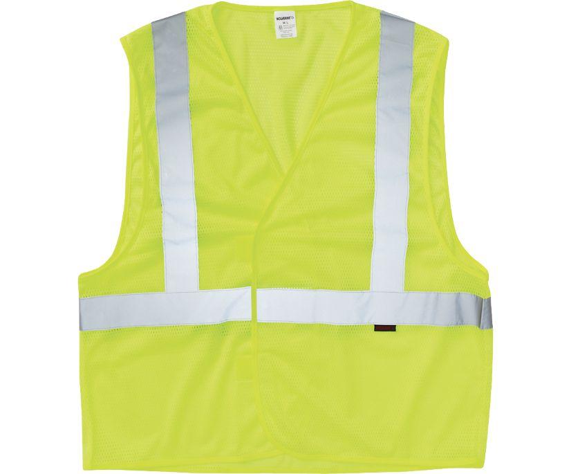 Packable Vest, Hi Vis Green, dynamic