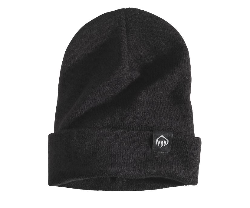 Knit Watch Cap, Black, dynamic