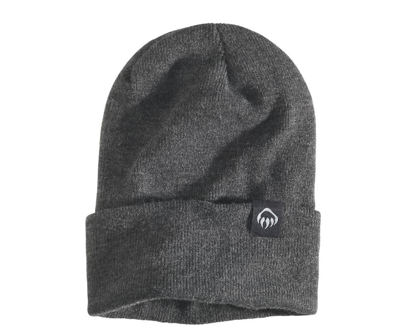 Knit Watch Cap, Charcoal Heather, dynamic