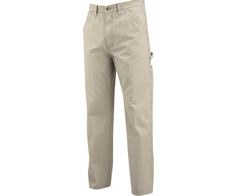 Hammer Loop Fleece Lined Pant, Khaki, dynamic