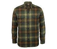 Escape Long Sleeve Flannel Shirt, GROVE PLAID, dynamic