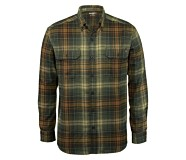 Escape Long Sleeve Flannel Shirt, GROVE PLAID, dynamic