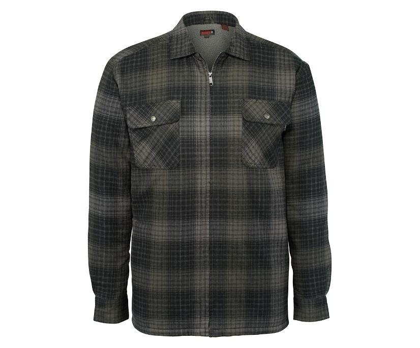 Marshall Shirt Jac, Onyx Plaid, dynamic