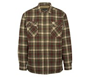 Marshall Shirt Jac, Black Olive Plaid, dynamic