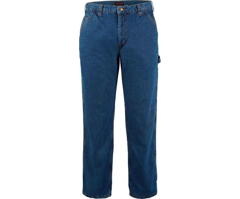 Hammer Loop Fleece Lined Pant, Dark Denim, dynamic