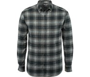 Hammond Long Sleeve Flannel Shirt, Onyx Plaid, dynamic