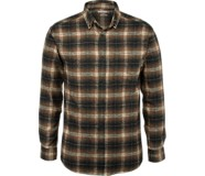 Hammond Long Sleeve Flannel Shirt, Copper Plaid, dynamic