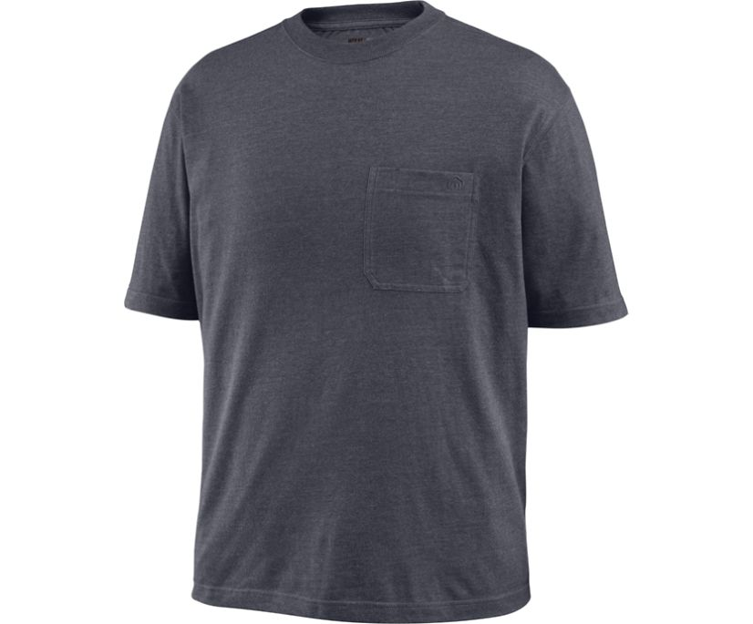 Knox Short Sleeve Tee (Big & Tall), Granite Heather, dynamic