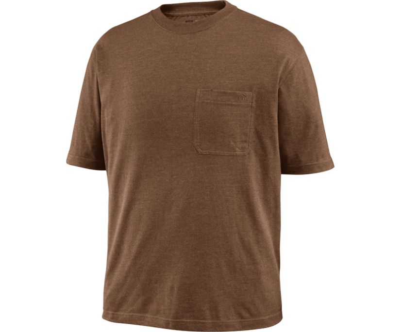 Knox Short Sleeve Tee (Big & Tall), Bison Heather, dynamic