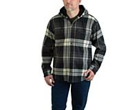Bucksaw Bonded Shirt Jac, Gunmetal Plaid, dynamic