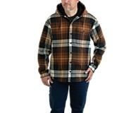 Bucksaw Bonded Shirt Jac, Copper Plaid, dynamic