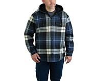Bucksaw Bonded Shirt Jac, Blue Plaid, dynamic