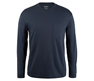 Knox Long Sleeve Tee, Dark Navy, dynamic