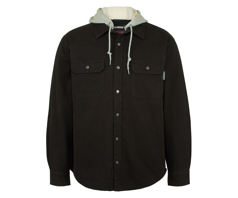 Overman Shirt Jac Big & Tall, Black, dynamic