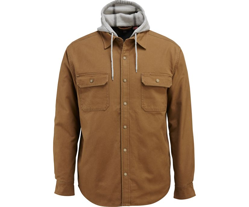 Overman Shirt Jac, Chestnut, dynamic