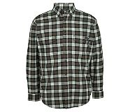 FR Plaid Long Sleeve Twill Shirt, Espresso Plaid, dynamic