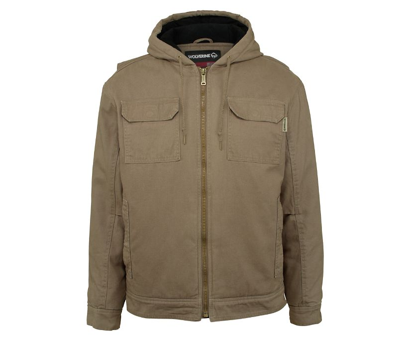 Lockhart Jacket B&T, Gravel, dynamic