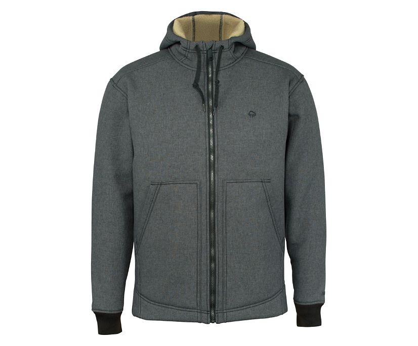Nation Jacket, Grey Heather, dynamic