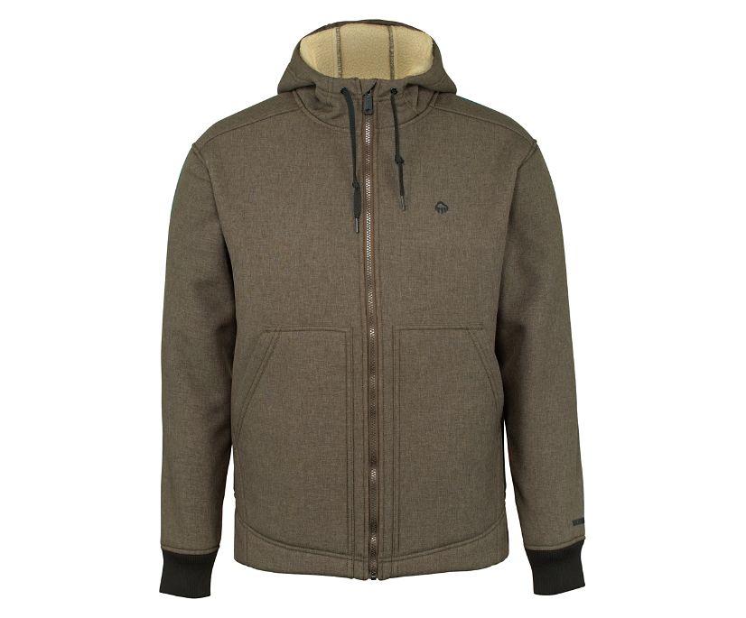 Nation Jacket, Bison Heather, dynamic