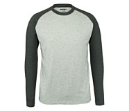 Brower Long Sleeve Tee, Ash Heather, dynamic