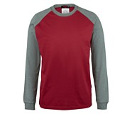 FR Brower Long Sleeve Tee, Dark Red, dynamic