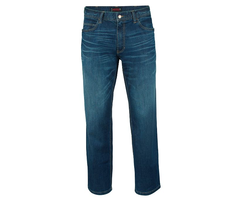 FR Stretch Denim, Dark Denim, dynamic