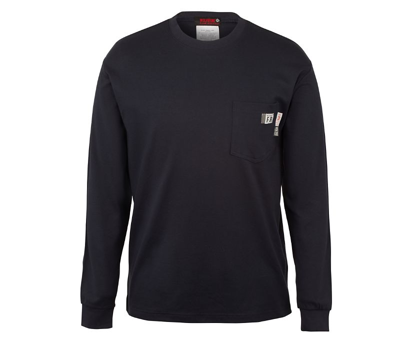 FR Long Sleeve Graphic Tee - Texas, Navy, dynamic