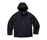 I-90 Rain Jacket, Black, dynamic