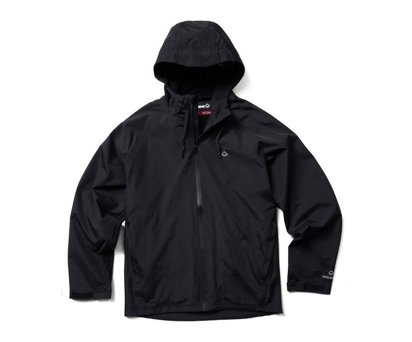 I-90 Rain Jacket, Black, dynamic