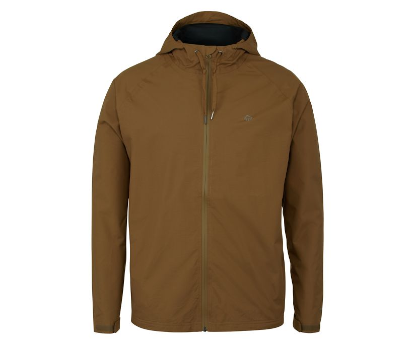 I-90 Rain Jacket, Chestnut, dynamic