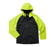 I-90 Rain Jacket, HIVIS Green, dynamic
