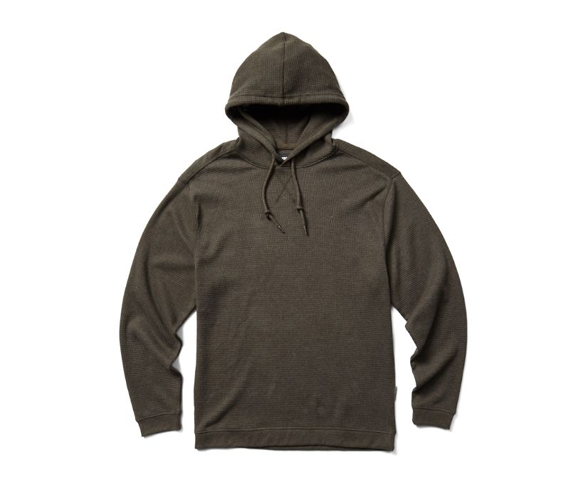 Walden Hooded Thermal, Espresso Heather, dynamic